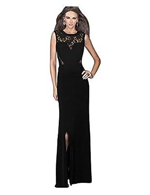 CA Mode Women's Maxi Lace Formal Gown Ball Evening Maxi Dress