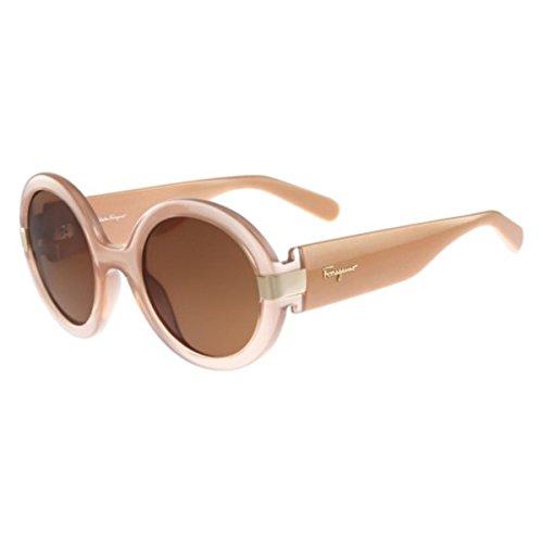 Salvatore Ferragamo Women's SF778S Nude - Sunglasses Ferragamo Women For