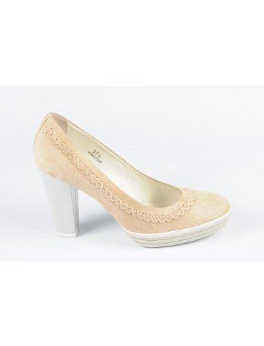 Hogan - pompe - donna - Hogan pompe donna HXW1240D140CR0C600 beige