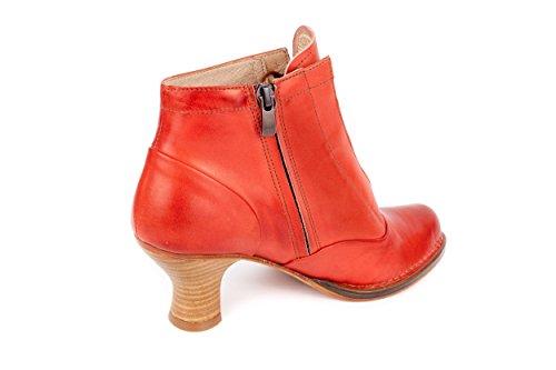 Neosens - Botas de Piel Lisa para mujer rojo rojo 37