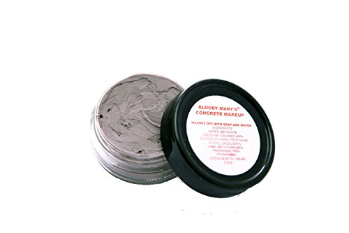 Bloody Mary F/X Monster Concrete Make-Up Kit, Grey, Small/.5-Ounce (Homemade Halloween Makeup Zombie)