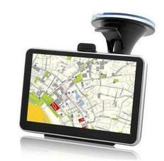 "Price comparison product image Cheap 4.3"" SatNav Sat Nav GPS / Media Player - USA or Europe Maps built-in"