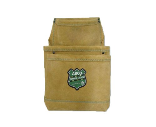Abco 3352-4 3-Pocket Drywall Tool Pouch