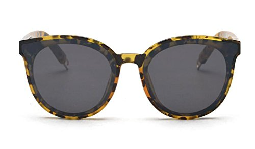 GAMT Cat Eye Clear Sunglasses Retro Classic Oversized Designer for Men Tortoise Frame Gray - Glasses Frames Tortoiseshell Round