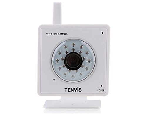 "Tenvis Mini319W 1/4"" Color CMOS Sensor MJPEG Series IP Camera with Built-in Microphone and Speaker (White)"