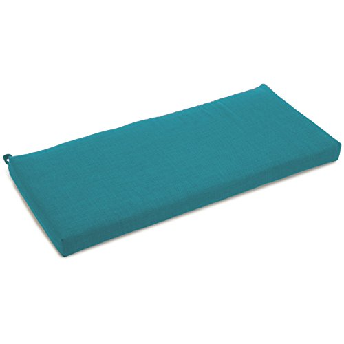Amazoncom Blazing Needles Solid Outdoor Spun Polyester Loveseat