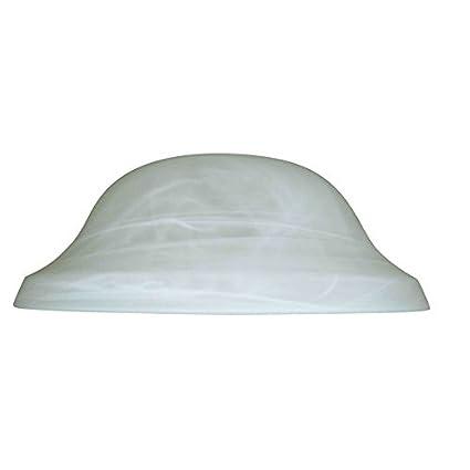 Litex 4 In H 11 13 In W Alabaster Glass Globe Ceiling Fan Light