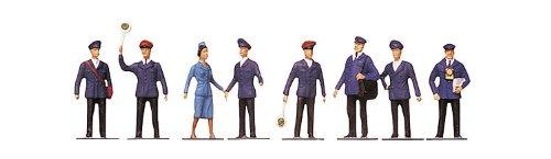 - Faller 151002 Railway Staff 8/HO Scale Figure Set