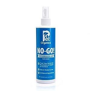 Pet Organics (Nala) NaturVet DNB04016 No-Go Housebreaking Aid Dog Spray, 16-Ounce