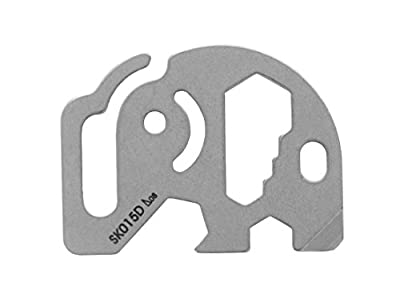 VERANY Tool Multi Function Pocket Survival Tool Keychain Bottle Opener 3 Style (Elephant) from VERANY