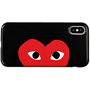 Amazon.com: Comme des Garcons Play Heart Logo CDG iPhone X