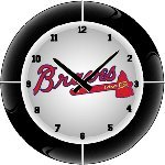 Atlanta Braves MLB Team Neon Everbright Wall Clock