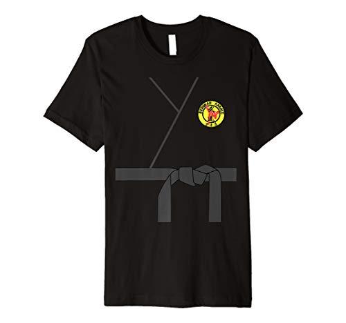 Black Belt Karate Halloween Costume T-shirt Gi Uniform