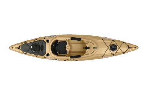 SUNDOLPHIN Sun Dolphin Excursion Sit-in Fishing Kayak (Sand, 12-Feet)