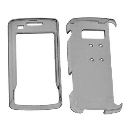 (Hard Plastic Snap on Cover Fits LG VX11000 EnV Touch Clear Smoke)