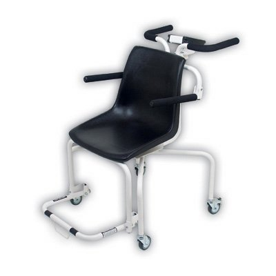Detecto, Digital Chair Scale, 440 lb x .2 lb / 200 kg x .1 kg