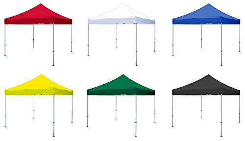 Elite Canopy 10'x10' Replacement Pop-Up Canopy Top (Black)