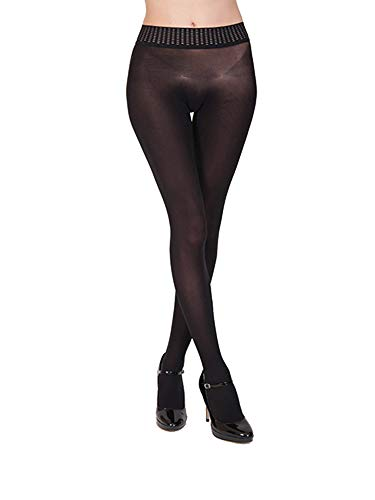 (Wolford Fatal 50 Seamless Tights-Black-Medium)