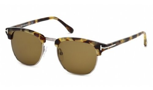 Tom Ford 248 55j Light Tortoise Henry Clubmaster Sunglasses Lens Category 3 - Sunglasses Tom 2012 Ford