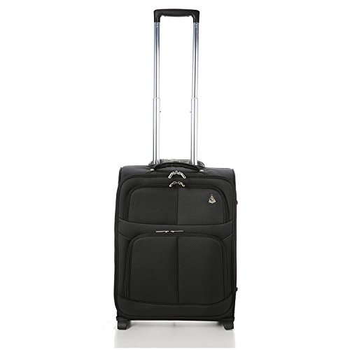 Large Capacity Maximum Allowance 22x14x9 All Parts Carry On Luggage Bag | Rolling Travel Suitcase Lightweight Small Soft Trolley for Men & Women | Approved by Delta, United, Southwest & Many More