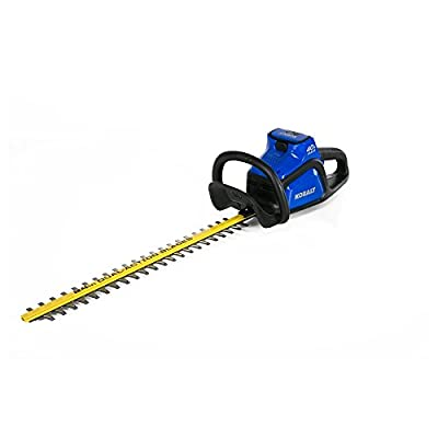 Kobalt 40-Volt Max 24-in Dual Cordless Hedge Trimmer (Tool Only - Battery/Charger Not Included)