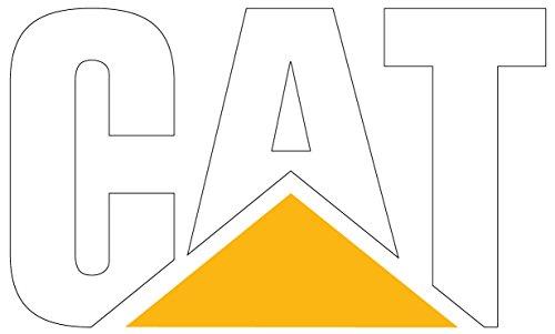Caterpillar CAT Logo Full color vinyl decal sticker 11