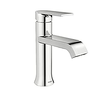 Moen WS84760 Genta Chrome One Handle Bathroom Faucet