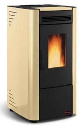 Estufa de pellets La Nordica Ketty 2,4-6,3 kW - Pergamento/PE: Amazon.es: Bricolaje y herramientas