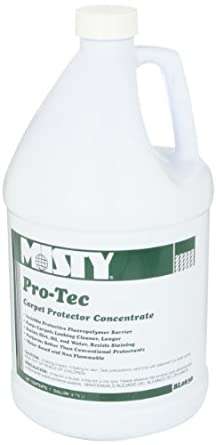 Misty R8384 Pro-Tec Carpet Protector, Sweet Scent, 1 gal. Bottle