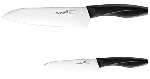 My Chef Comfort Grip Kitchen Knife Knives Set with Stainless