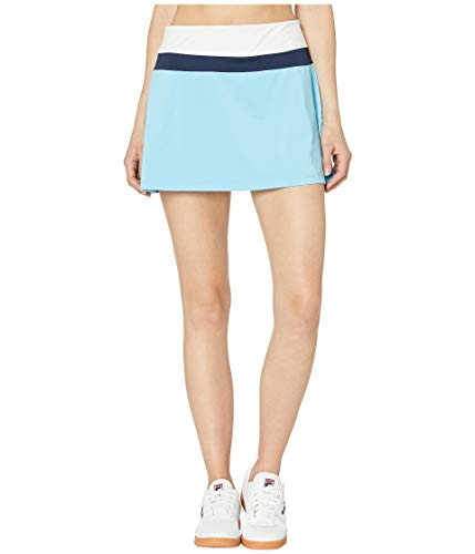 - Fila Women's Heritage Color Block Skort Baltic Sea/White/Navy X-Small