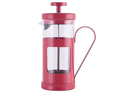 La Cafetière Monaco 8 Cup Cafetière, Red – 1 L (35 Fl Oz) For Sale