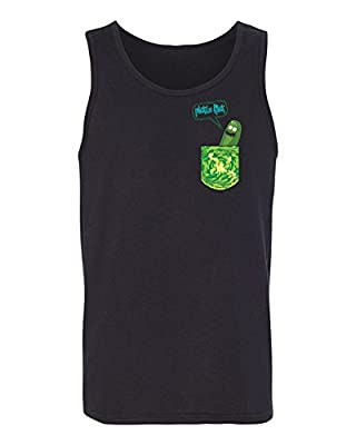 Rick and Morthy Picke Rick Tiny Pocket Shirt TV Funny Tank Top