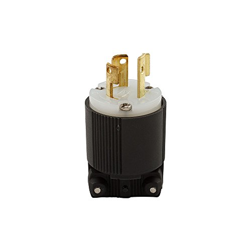 Eaton CWL615P 15 Amp 250V L6-15 Safety Grip Plug, Black & White by Eaton (Image #3)