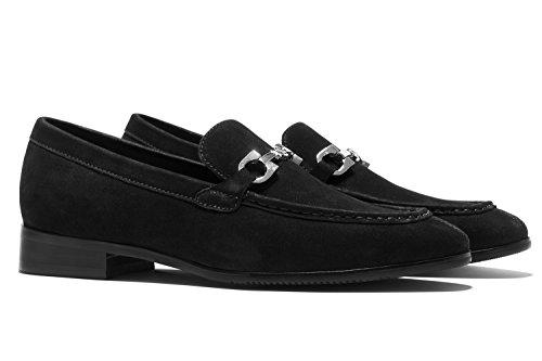 Opp Mens Nouvelle Mode En Cuir Mocassins Chaussures Robe Chaussures Noir