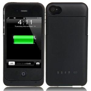 Amazon.com: 1900mAh Rechargeable External Battery Case for ...