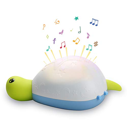 Baby Sleep Soother, Termichy Sound Machine and Night Light for Baby with Soft Music and Timer for Bedroom and Crib
