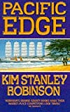 Front cover for the book Pacific Edge by Kim Stanley Robinson