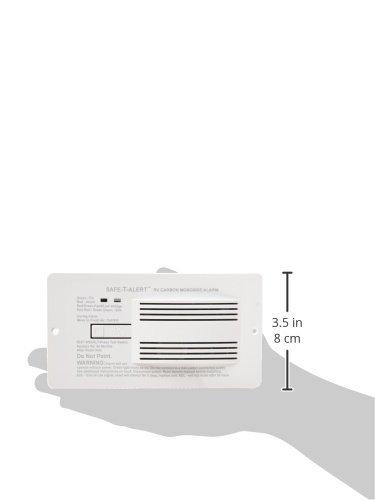 MTI Industries T Carbon Monoxide Alarm - Mount, White