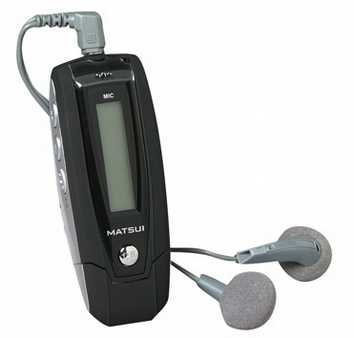 Matsui mp3 player internal updating music library