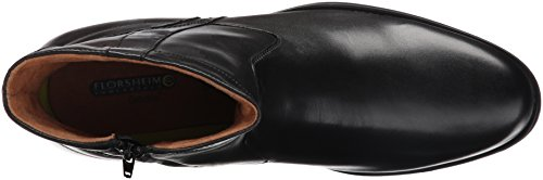 Florsheim Heren Medfield Plain Teen Zip Chelsea Laars Zwart
