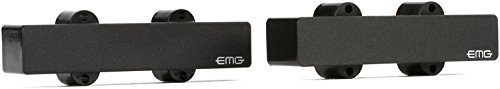 EMG J Prewired Bass Guitar Pickup Set Plus Control Plate System