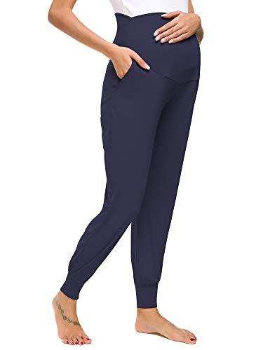 Liu & Qu Women's Maternity Comfy Casual Pants Stretchy Comfortable Lounge Pants