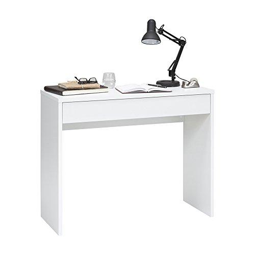 FMD Möbel 362-001 - Console Checker, 100 x 80 x 40 cm, bianco