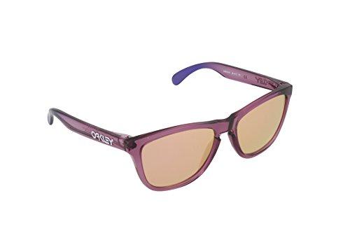 Oakley Men's Frogskins Alpine Non-Polarized Wayfarer Sunglasses, Pink/Pink Iridium, One - Alpinas Sunglasses