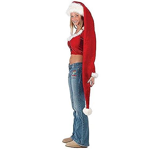 yansanido 5 feet long santa hat 61x12 for fun filled christmas and holiday party long santa hat 61x12