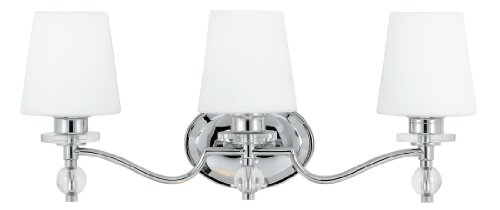 Quoizel HS8601C Hollister 1-Light Bath Wall Fixture, Polished Chrome durable modeling