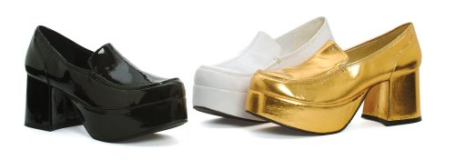 Funtasma Door Pleaser Mens Jazz-02 Platform Oxford Gold