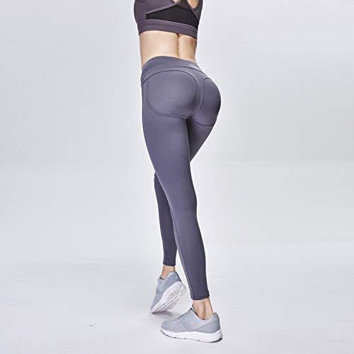 Di Semplice Fitness Cjjc Gray Da Elasticizzato Allenamento Vita Pantaloni Colore Alta Leggings Corsa Puro Sportivi Donna Yoga wCHpgqC
