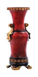 Sterling 93-5860 Composite Decorative Ruby Vase, 20-Inch